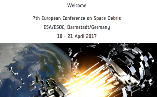 Website for the ESA space debris conference looks like science fiction. Sadly, it's not.
