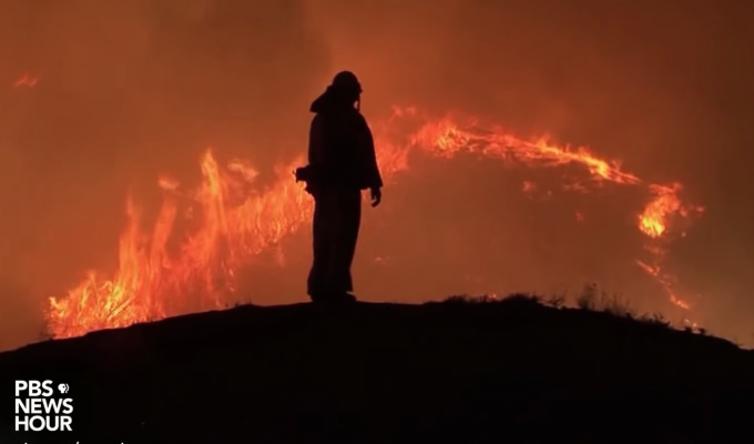 California wildfires climate change | Miles O'Brien Productions