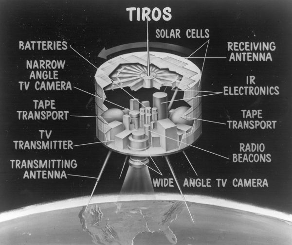 The world's first weather satellite, TIROS-1, was launched April 1st, 1960 | Miles O'Brien Productions