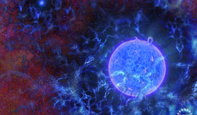 Birth of first stars, clues about dark matter revealed by new radio astronomy technique
