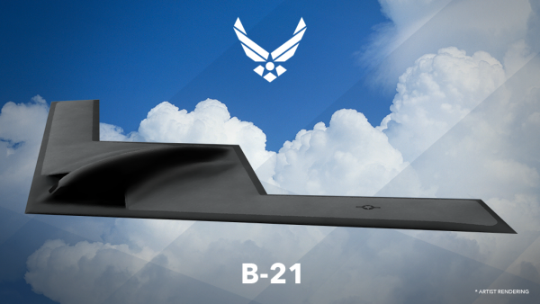 The B-21 Raider, pictured here, is set to replace the B-2 stealth bomber | Miles O'Brien Productions