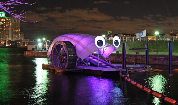 Mr. Trash Wheel made Baltimore laugh, then clean up its waterways. Can fun messaging improve environmental work?