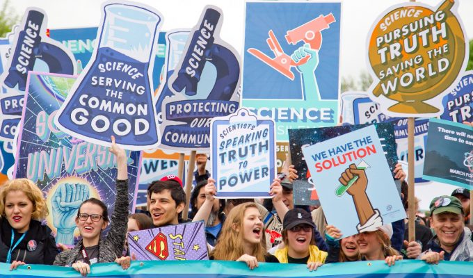 March for Science revs up again this weekend. Here's what to expect. | Miles O'Brien Productions